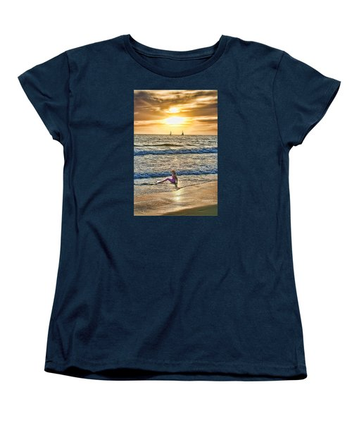 Women's T-Shirt (Standard Cut) featuring the photograph Mermaid Of Venice by Michael Cleere