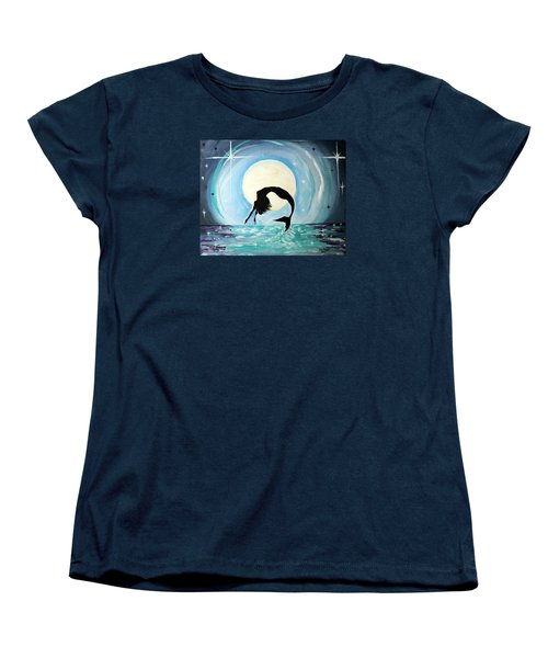 Mermaid Women's T-Shirt (Standard Cut) by Tom Riggs