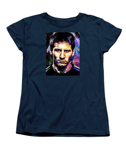 Messi Women's T-Shirt (Standard Cut) by Svelby Art