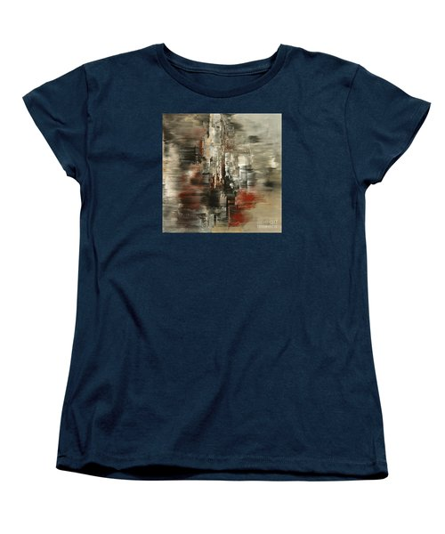 Metals And Magnetism Women's T-Shirt (Standard Cut) by Tatiana Iliina