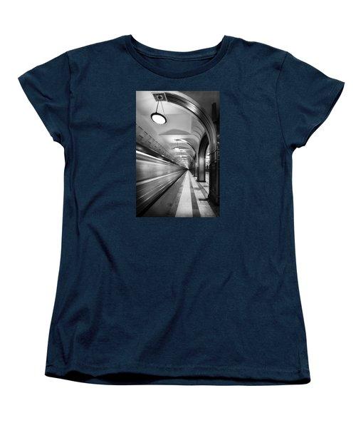 Metro #5147 Women's T-Shirt (Standard Cut) by Andrey Godyaykin
