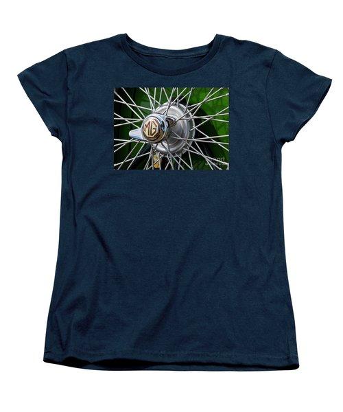 Mg Hub Women's T-Shirt (Standard Cut) by Chris Dutton