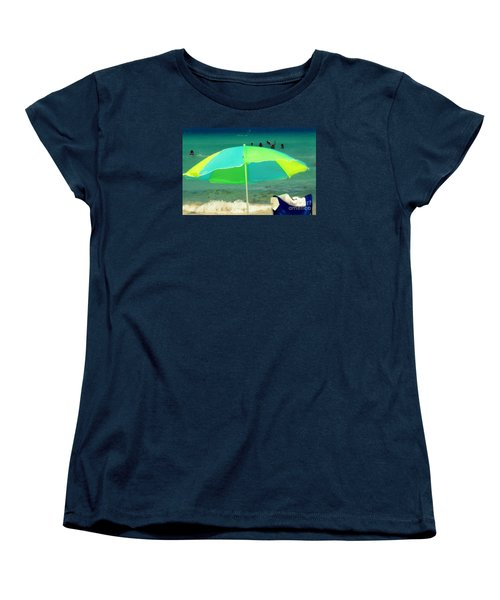 Miami Beach 3 Women's T-Shirt (Standard Cut) by France Laliberte