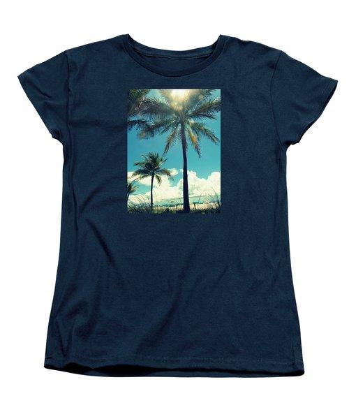 Miami Beach Women's T-Shirt (Standard Cut) by France Laliberte