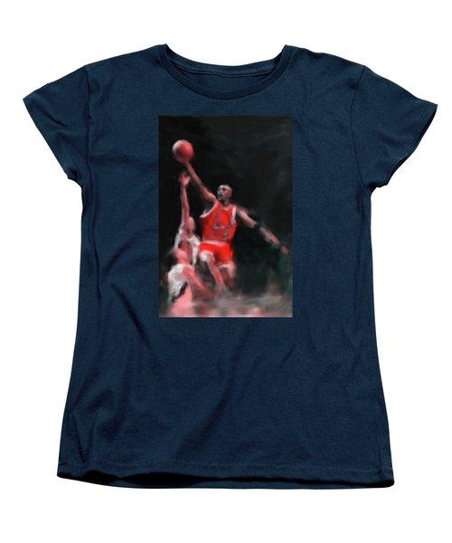 Michael Jordan 548 3 Women's T-Shirt (Standard Cut) by Mawra Tahreem