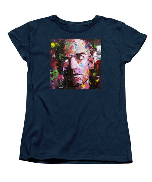 Michael Stipe Women's T-Shirt (Standard Cut) by Richard Day