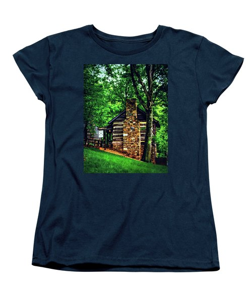 Women's T-Shirt (Standard Cut) featuring the photograph Michie Tavern No. 2 by Laura DAddona
