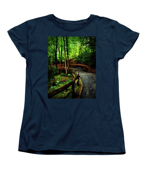 Women's T-Shirt (Standard Cut) featuring the photograph Michie Tavern No. 3 by Laura DAddona