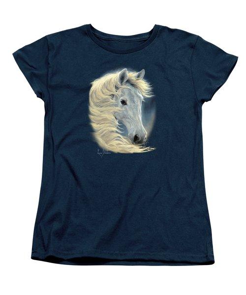 Midnight Glow Women's T-Shirt (Standard Cut) by Lucie Bilodeau
