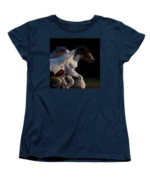 Women's T-Shirt (Standard Cut) featuring the photograph Midnight Run by Sharon Jones