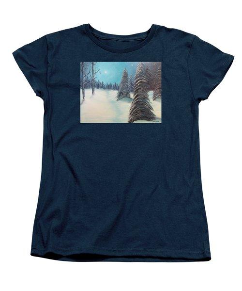 Midnight Silence Women's T-Shirt (Standard Cut)