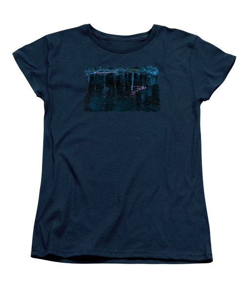Midnight Spring Women's T-Shirt (Standard Cut) by John M Bailey