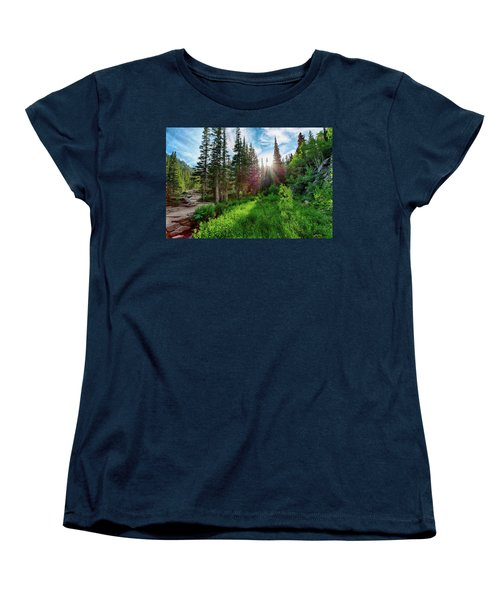 Women's T-Shirt (Standard Cut) featuring the photograph Midsummer Dream by David Chandler