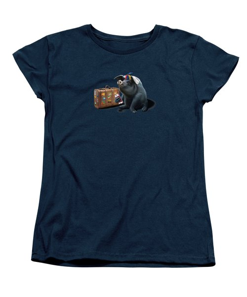 Might Wordless Women's T-Shirt (Standard Cut) by Rob Snow