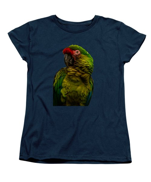Military Macaw Women's T-Shirt (Standard Cut) by Zina Stromberg