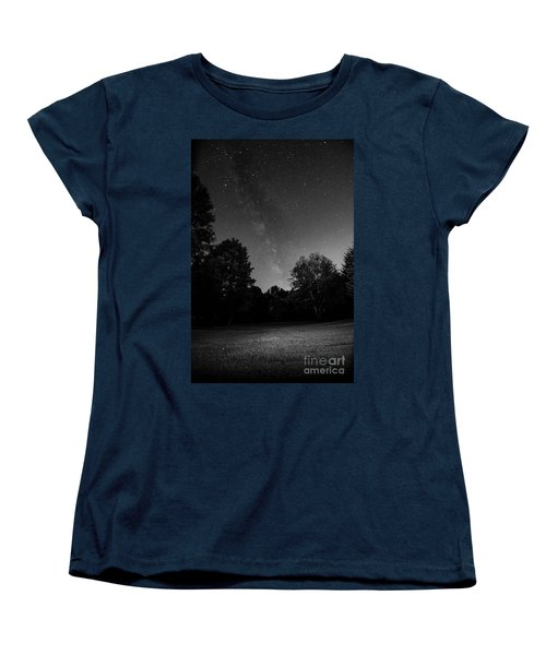 Milky Way Women's T-Shirt (Standard Cut) by Brian Jones
