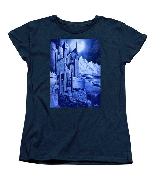 Minas Tirith Women's T-Shirt (Standard Cut) by Curtiss Shaffer