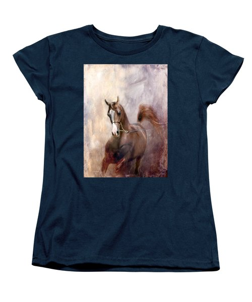 Women's T-Shirt (Standard Cut) featuring the digital art Mind Fed With Hope by Dorota Kudyba