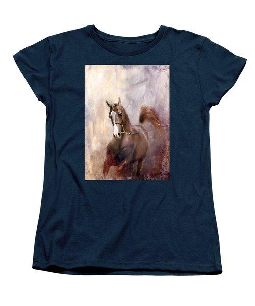 Mind Fed With Hope Women's T-Shirt (Standard Cut) by Dorota Kudyba