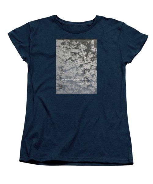 Mind Of Winter Women's T-Shirt (Standard Cut) by Deborah Dendler