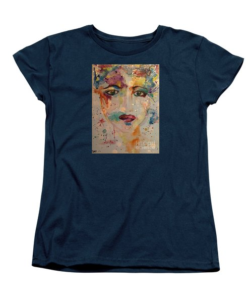 Minerva Women's T-Shirt (Standard Cut) by Denise Tomasura
