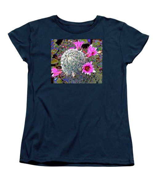 Mini Cactus Women's T-Shirt (Standard Cut) by M Diane Bonaparte