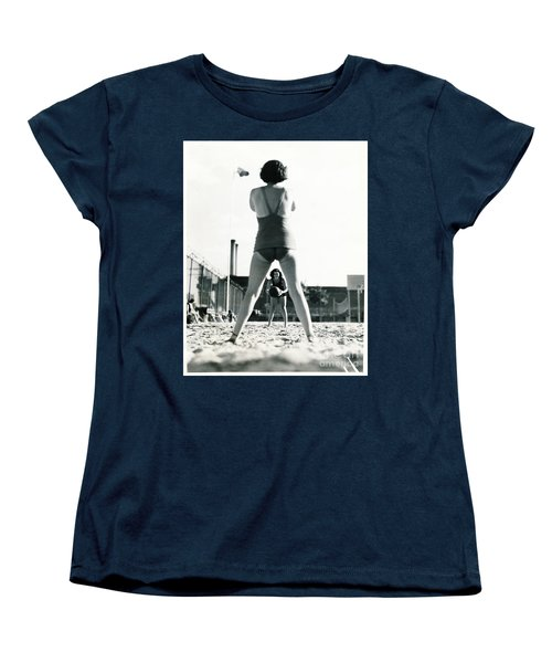 Women's T-Shirt (Standard Cut) featuring the photograph Miramar Pool, 1932 by Cole Thompson