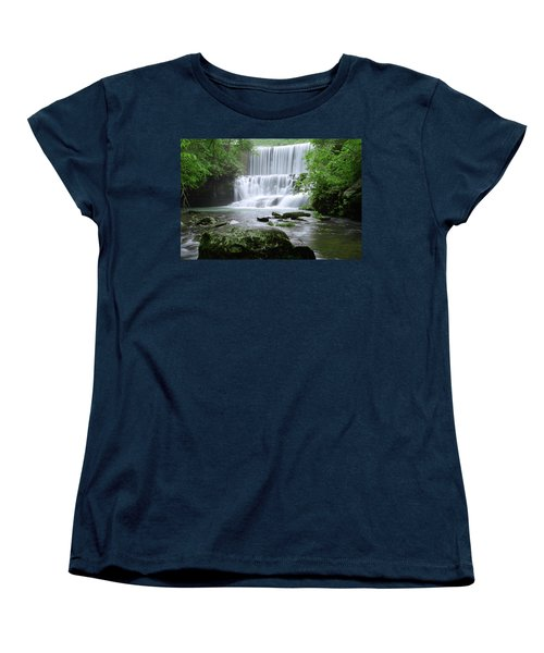 Women's T-Shirt (Standard Cut) featuring the photograph Mirror Lake by Renee Hardison
