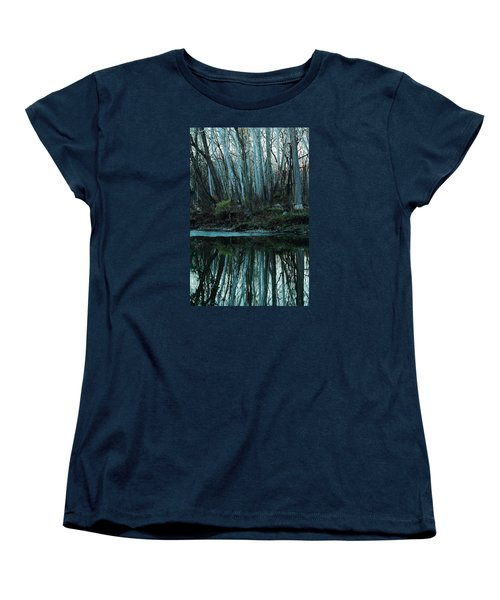 Mirrored Women's T-Shirt (Standard Cut) by Bruce Patrick Smith