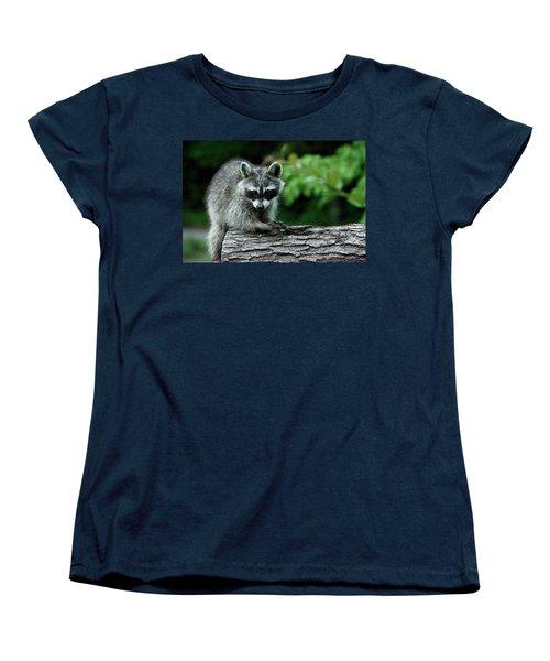 Mischievous Women's T-Shirt (Standard Cut) by Linda Segerson