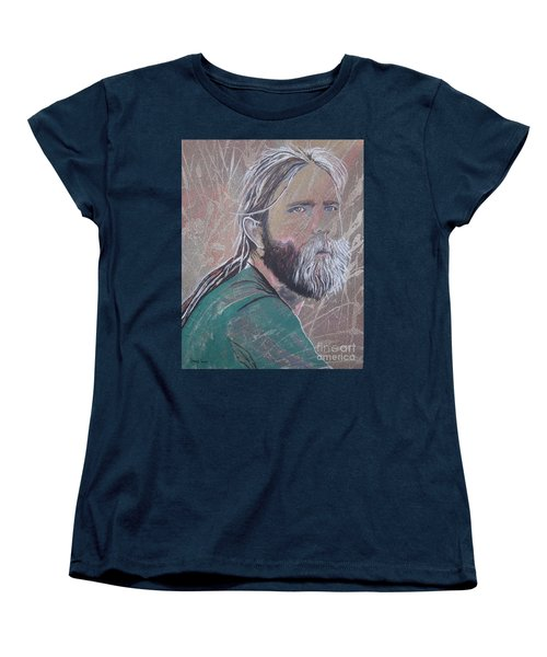 Women's T-Shirt (Standard Cut) featuring the painting Missing Brent by Stuart Engel