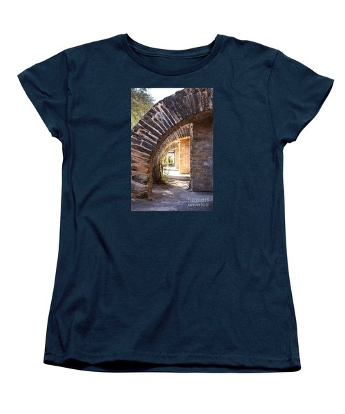 Women's T-Shirt (Standard Cut) featuring the photograph Mission San Jose by Jeanette French