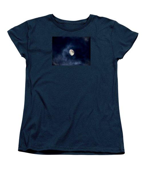 Blue Vapor Women's T-Shirt (Standard Cut) by Glenn Feron