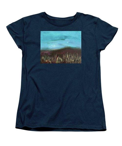 Misty Moors Women's T-Shirt (Standard Cut) by Donna Blackhall