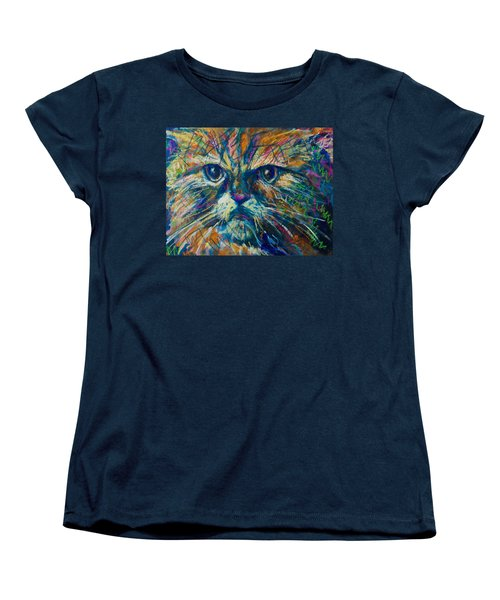 Mixed Feelings Women's T-Shirt (Standard Cut) by Maxim Komissarchik