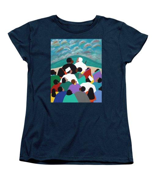 Mlk Called To Serve Women's T-Shirt (Standard Fit)