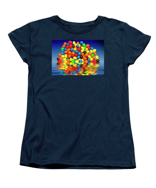 Women's T-Shirt (Standard Cut) featuring the photograph Mm Chocolate Sweets by David French