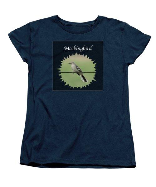 Mockingbird      Women's T-Shirt (Standard Cut) by Jan M Holden
