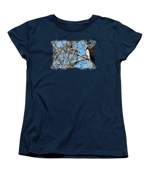 Mockingbird Women's T-Shirt (Standard Cut) by Katherine Nutt