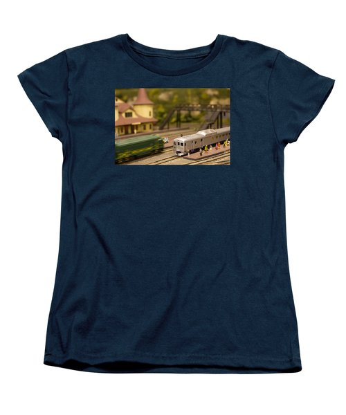 Model Trains Women's T-Shirt (Standard Cut) by Patrice Zinck