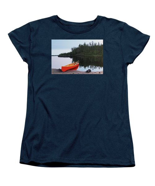 Moments Of Peace Women's T-Shirt (Standard Cut) by Kenneth M  Kirsch
