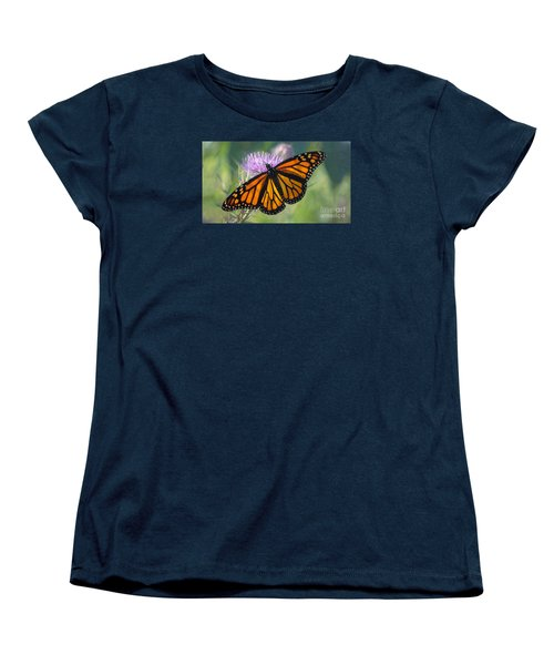 Monarch's Beauty Women's T-Shirt (Standard Cut) by Rima Biswas