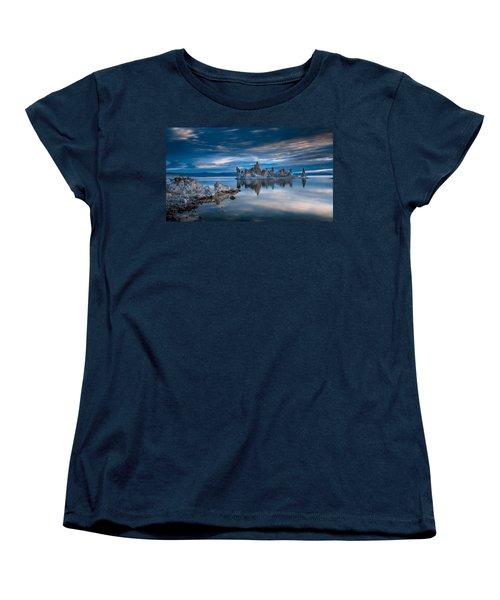 Mono Lake Tufas Women's T-Shirt (Standard Cut) by Ralph Vazquez