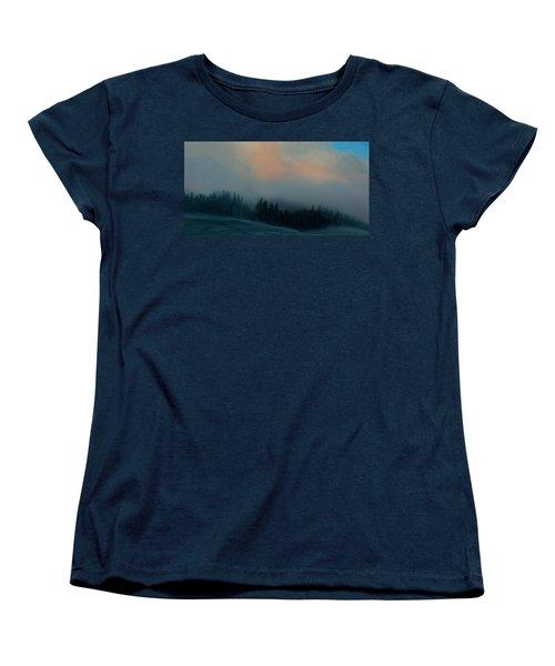 Women's T-Shirt (Standard Cut) featuring the photograph Mont Tremblant Vista by Jim Vance