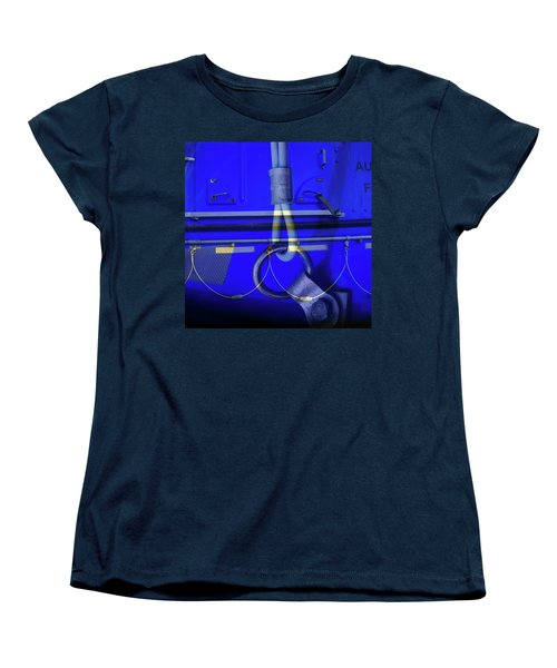 Women's T-Shirt (Standard Cut) featuring the photograph Mood Blue by Wayne Sherriff