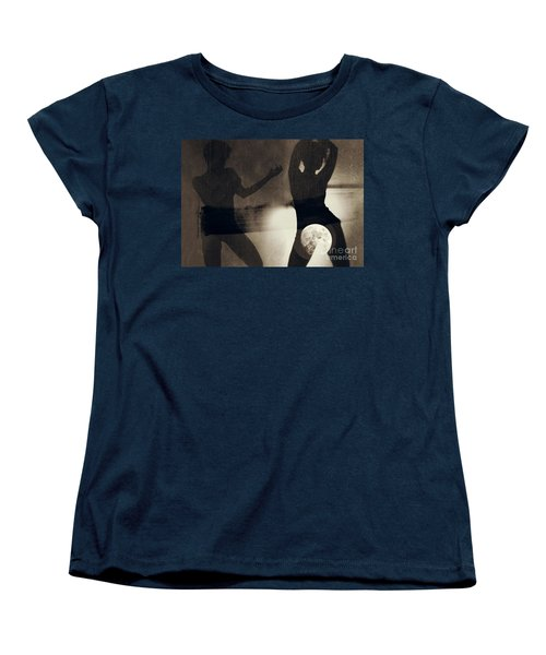 Moon And Then Women's T-Shirt (Standard Cut) by Jessica Shelton