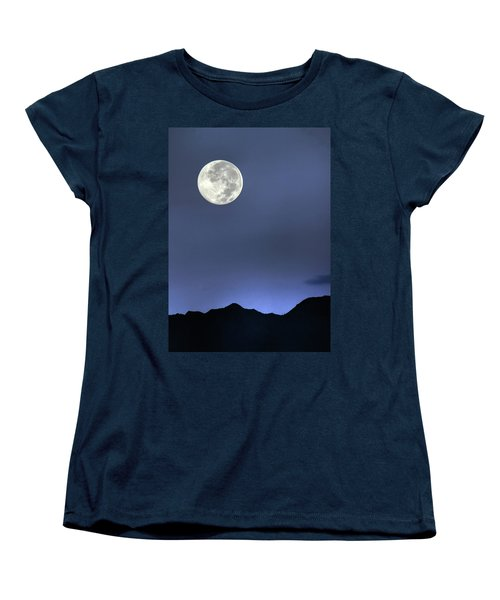 Moon Over Ko'olau Women's T-Shirt (Standard Cut) by Dan McManus