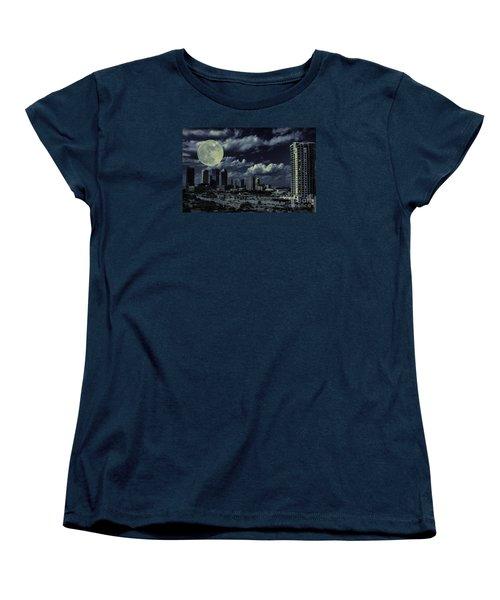 Moon Over Tampa Two Women's T-Shirt (Standard Cut)