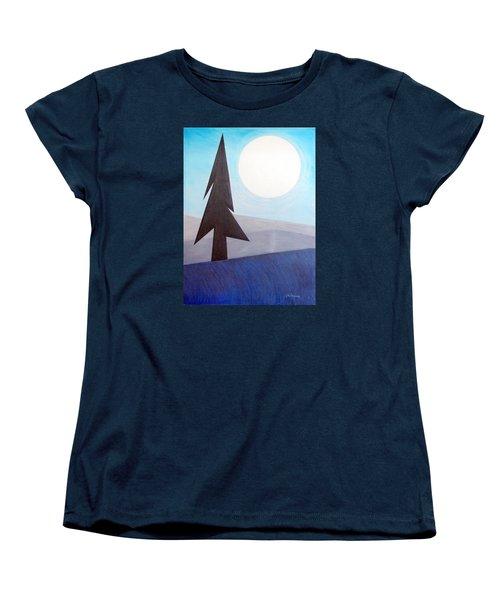 Moon Rings Women's T-Shirt (Standard Cut) by J R Seymour