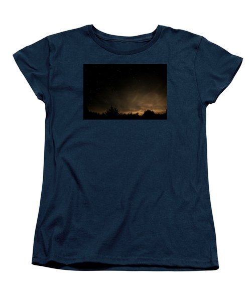 Moon Rise Women's T-Shirt (Standard Cut) by Katie Wing Vigil